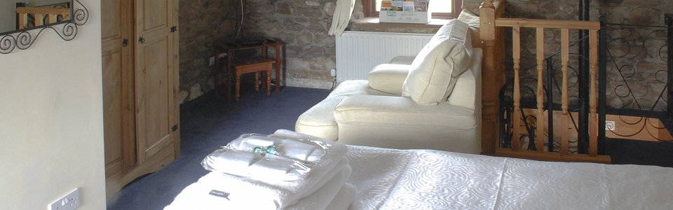 Photo: Helm Cottage bedroom
